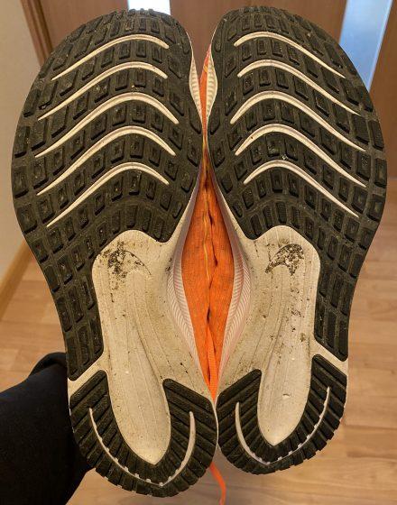 ナイキ『ライバルフライ2』の靴の裏の写真