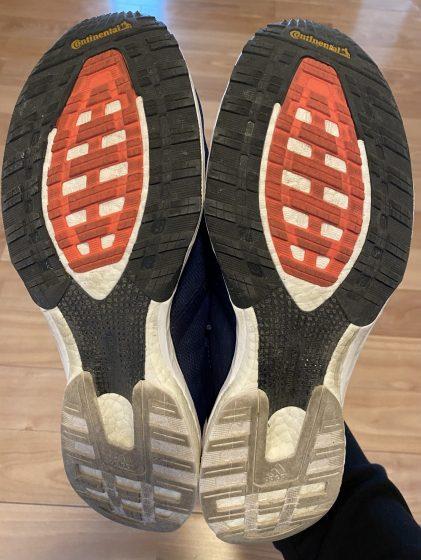 アディダス 『ジャパン5』の靴の裏の写真