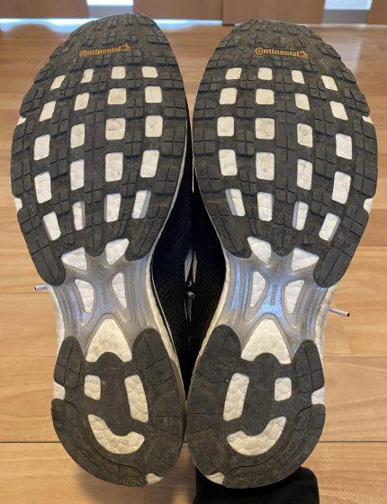 アディダス 『ジャパン4』の靴の裏の写真