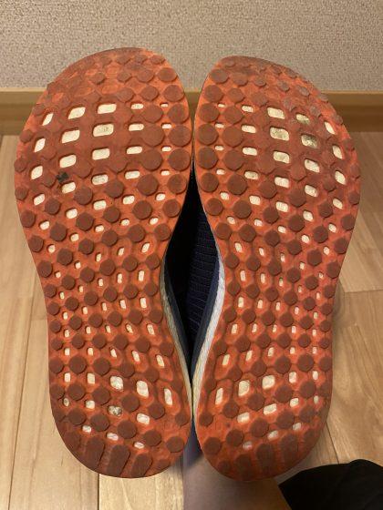 アディダス『ソーラードライブ 』の靴の裏の写真