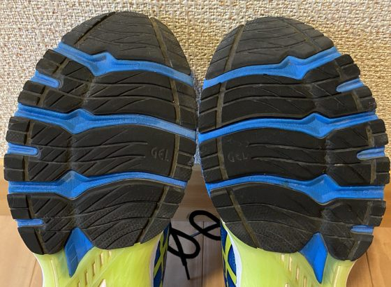 アシックス『gt2000-9』の靴の裏の写真