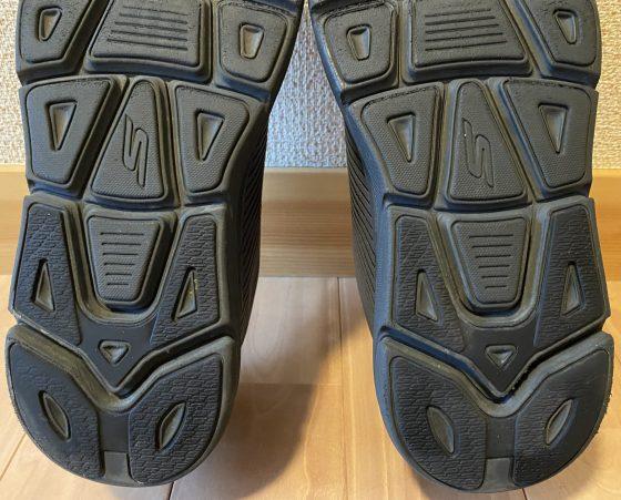 スケッチャーズ『マックスクッショニングプレミア』の靴の裏の写真