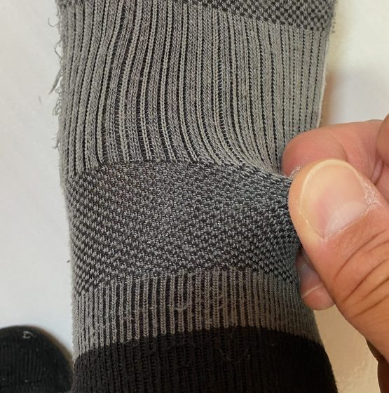 サッカニーの3足セットの靴下の写真