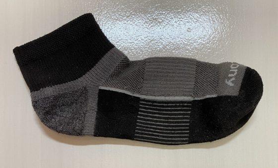 サッカニーの靴下の写真